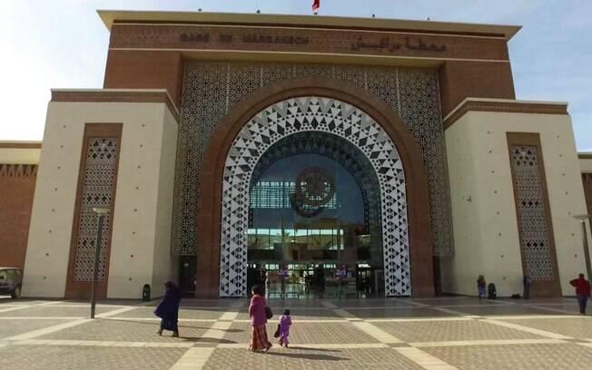 Estação de trem do centro de Marrakesh