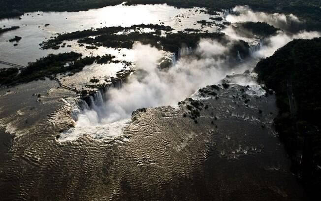 Foz do Iguaçu é um dos destinos brasileiros mais visitados por turistas estrangeiros