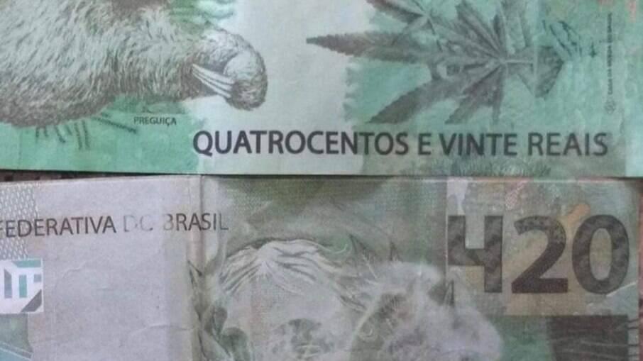 Nota R$ 420 foi entregue a idoso em Unaí (MG)