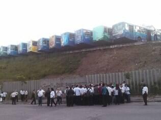 Motoristas se reúnem em Sabará