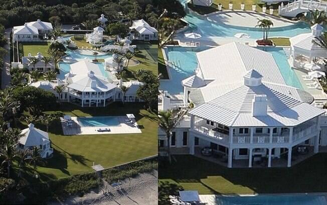 Celine Dion coloca mansão à venda em Las Vegas, Estados Unidos, no valor de US$ 75 milhões (R$ 180 milhões)
