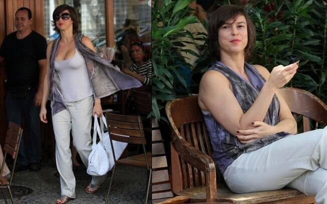 Maria Paula completou 41 anos nesta terça-feira (29)