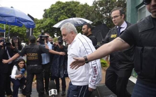 O ex-diretor do Banco do Brasil, Henrique Pizzolato começou a cumprir pena com mais de dois anos de atraso