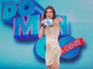 Daniella Cicarelli comanda 'Domingo da Gente'