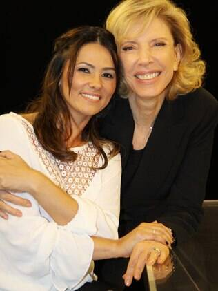 Suzana Alves e Marília Gabriela