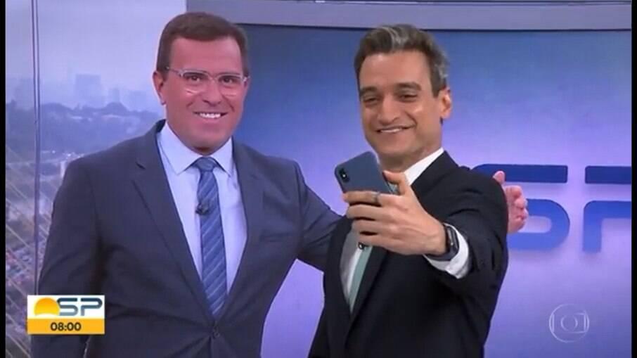 Bocardi fez uma selfie por vídeo e virou meme
