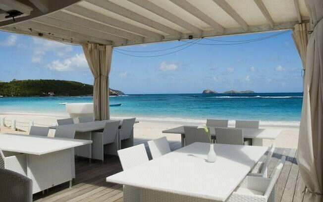 Restaurantes à beira-mar: requinte e luxo em St. Barths
