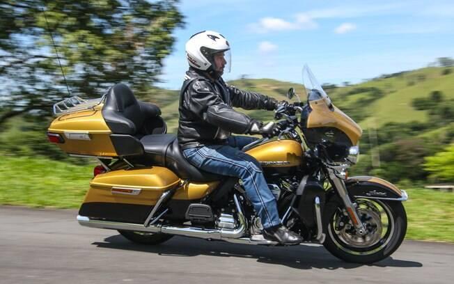 A Harley-Davidson Ultra Limited ficou bem mais fácil de ser pilotada