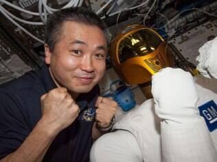 Robô, ainda sem pernas, já está na Estação Espacial Internacional