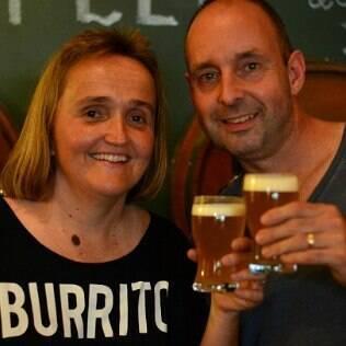 Daniela e Steffen Ohnemüller, donos da Ideal