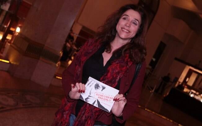 Marisa Orth e Marcos Caruso conferem peça de Cassio Scapin