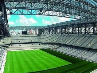 Estádio que mais preocupa pelo calendário mostra boa evolução
