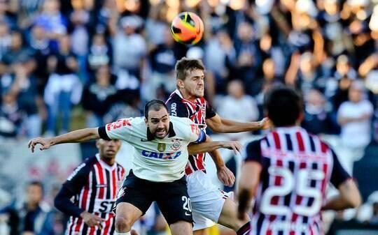 São Paulo freia Corinthians, empata e encerra sequência de derrotas - Futebol - iG