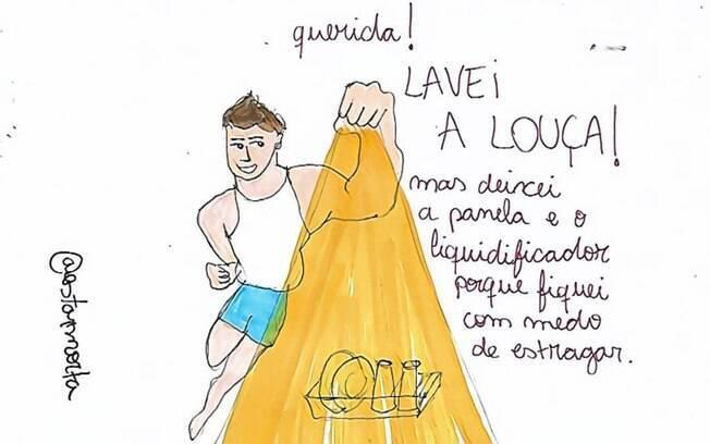 Bruna Maia satiriza comportamento masculino no Instagram e em livro lançado este ano