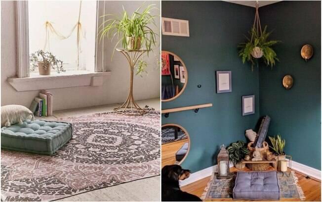 De acordo com especialistas, as cores utilizadas para pintar cômodos podem, sim, transmitir sensações diferentes, e, para quem busca relaxamento e tranquilidade, os tons mais indicados são os verdes e azuis mais claros