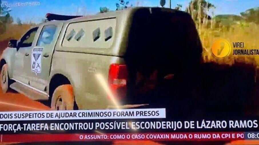 GloboNews comete gafe e chama serial killer de Lázaro Ramos