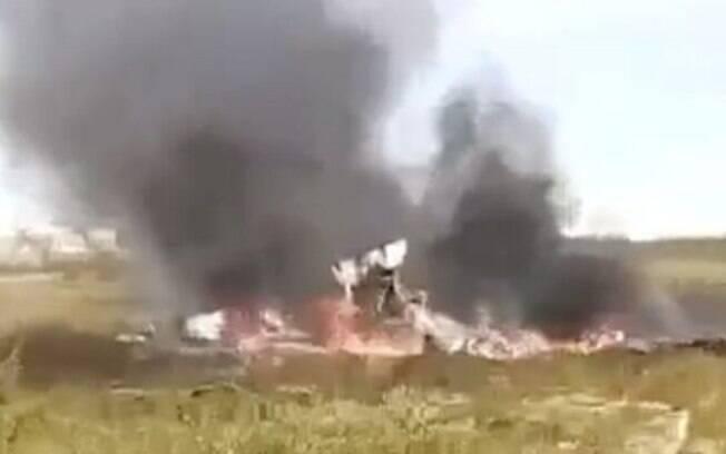 Helicóptero caiu a cerca de 180 km de Igarka, na Sibéria, a bordo estavam três tripulantes e 15 passageiros