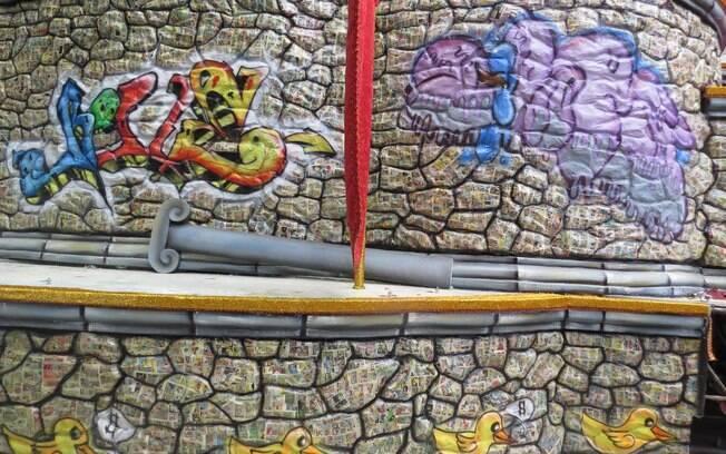 A Acadêmicos do Tucuruvi terá o grafite como tema de seu desfile no carnaval paulistano deste ano
