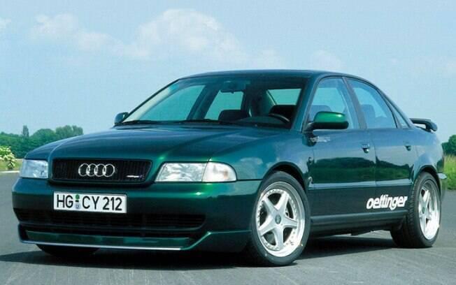 A OETTINGER faz Audi preparados há mais de 20 anos. Esse A4 é um dos carros que consagrou a marca mundialmente