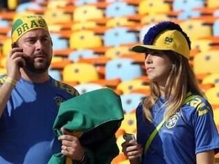 Torcedores questionaram organização dos lugares marcados no Maracanã