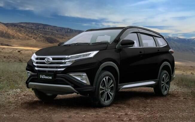 Daihatsu Terios: a nova aposta da marca japonesa no segmento de SUVs médios