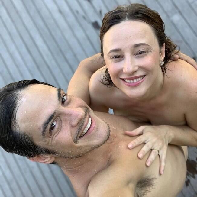 Mateus Solano e Paula Braun