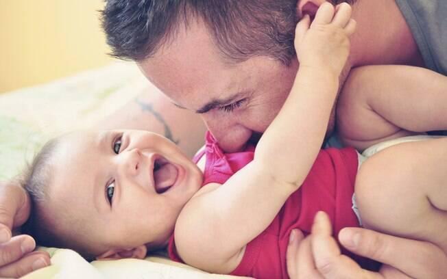 Pesquisas mais recentes mostram que o pai começa a influenciar os filhos antes do nascimento