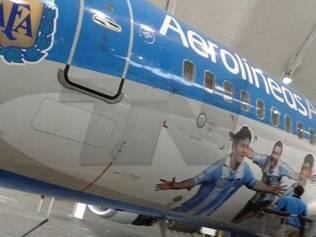 A divulgação oficial da aeronave argentina para a Copa deverá ser feita nos próximos dias