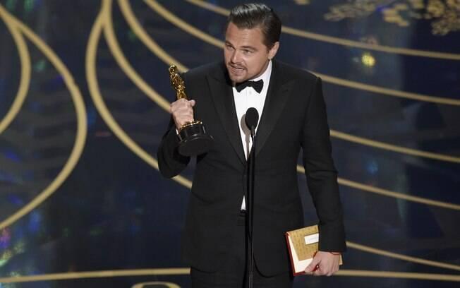 Leonardo DiCaprio ganhou o Oscar de melhor ator por