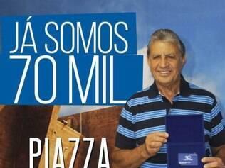 Tricampeão do mundo com a seleção brasileira, Wilson Piazza é um dos grandes ídolos da história do Cruzeiro