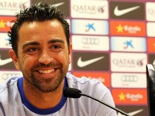 Xavi disse que Neymar deve mostrar na Espanha, a mesma personalidade apresentada no Brasil
