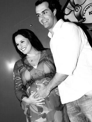 Mariana Belém e Cristiano Saab: pais de Laura