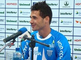 Maurício Alves também defendeu as cores do Avaí antes de transferência para o futebol francês
