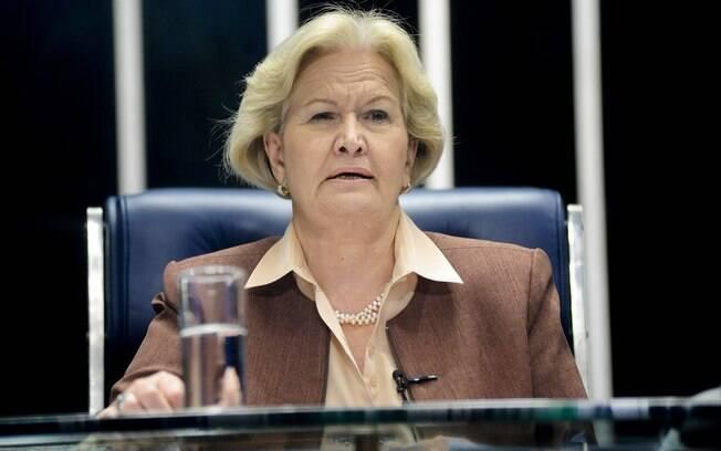 A senadora Ana Amélia (RS) é uma das indicadas do PP para compor a comissão do impeachment no Senado. Foto: Pedro França/Agência Senado - 10.11.15