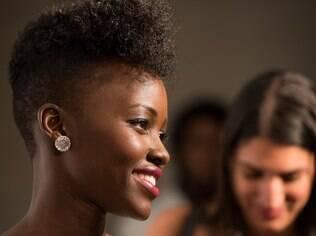 Lupita Nyong'o e uma boa opção para os crespos