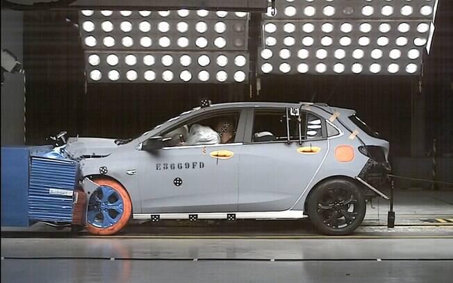 Novo Chevrolet Onix superou, e muito, o seu antecessor na qualidade do monobloco, o que o levou à nota máxima