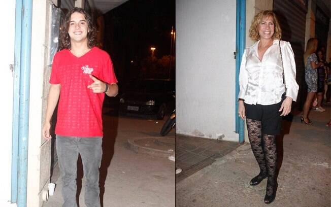 Guilherme Boury e Arlete Salles