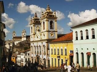 A beleza histórica do Pelourinho, em Salvador