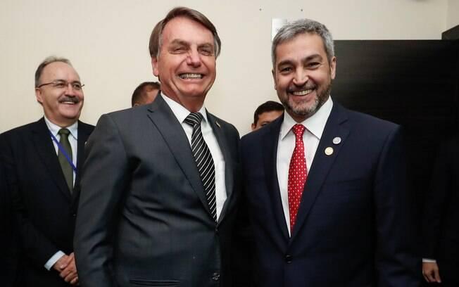 Bolsonaro e Mario Abdo
