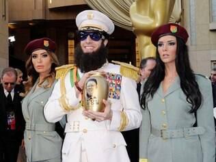 Sacha Baron Cohen, vestido como