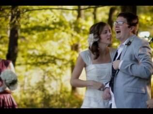 Vídeo publicado do casamento dos jovens emocionou a todos