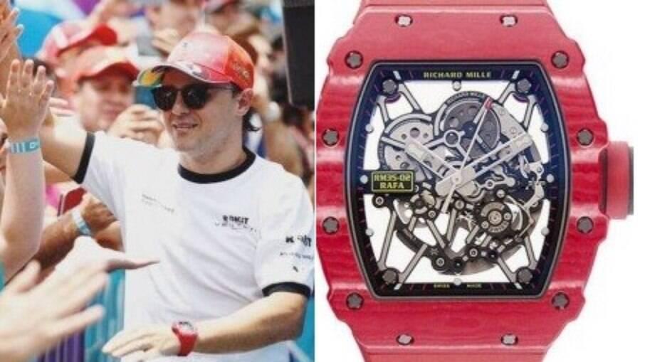 Relógio de Felipe Massa