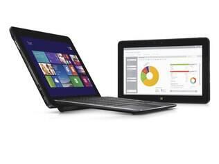 Venue 11 Pro pode ser acoplado a teclado para virar notebook