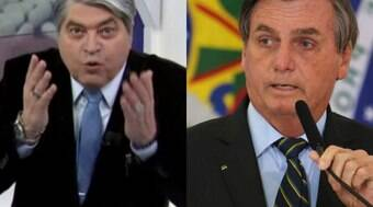 Datena critica Bolsonaro ao vivo: