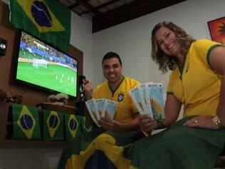 Betinenses esperam levar sorte ao Brasil no jogo de sábado (28), no Mineirão, contra o Chile, em partida válida pelas oitavas