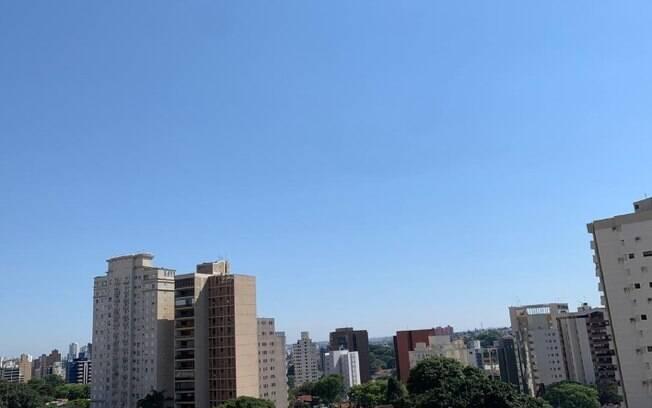 Domingo será de calor com máxima de 34°C, segundo previsão