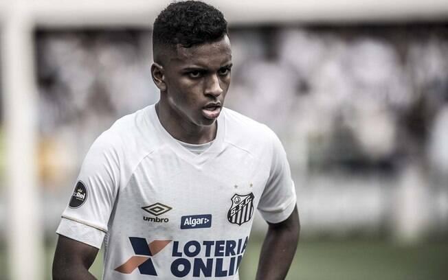 Rodrygo, do Santos, não foi liberado pela CBF para os jogos do Brasileirão
