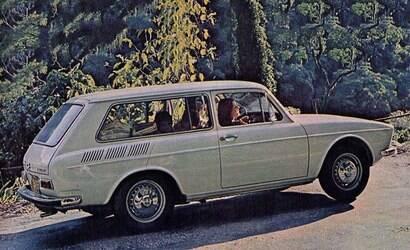 A história da perua VW Variant, uma das pioneiras no Brasil