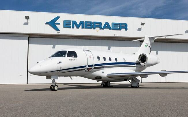 Embraer entrega jato Praetor 500 para cliente brasileiro