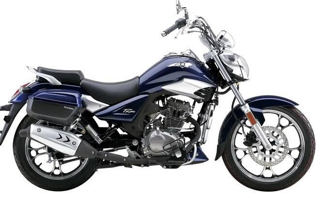 Com traços inspirados na Suzuki Boulevard, a Master Rider apostará em um visual mais moderno que as longevas concorrentes